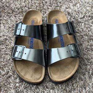 Metallic Birkenstock - Arizona (37)